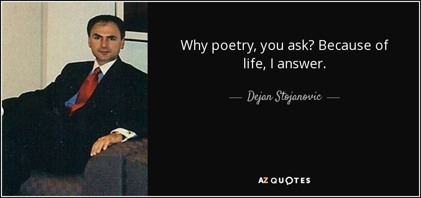 What is the best way to start an answer in poetry?