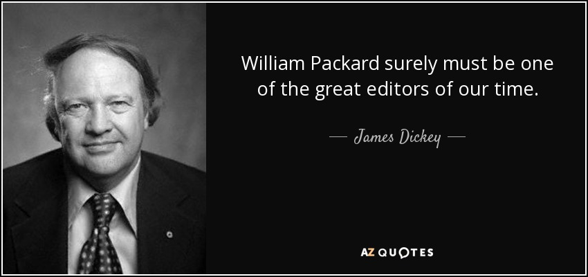 james dickey never too late to be a poet