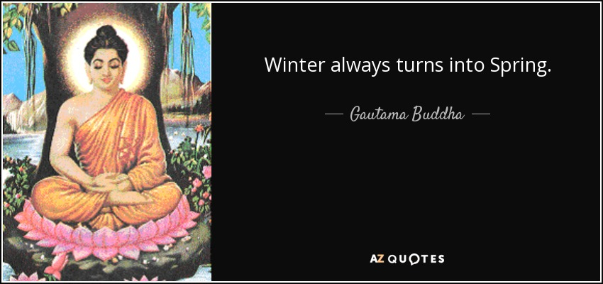 Image result for buddha quotes on winter
