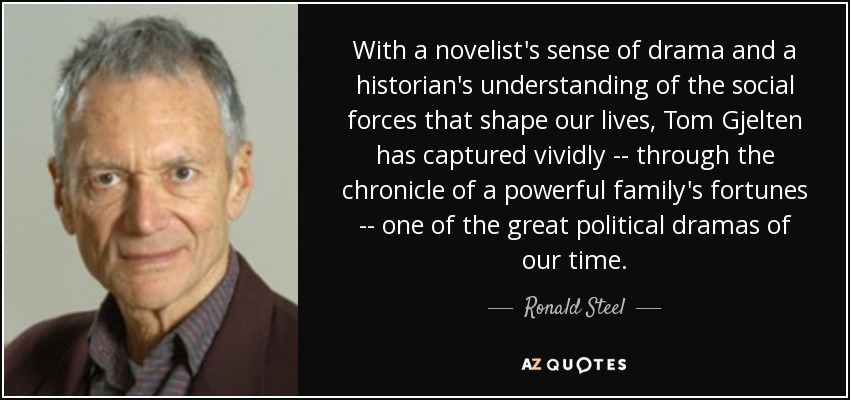 With a novelist's sense of drama and a historian's understanding of the social forces that shape our lives, Tom Gjelten has captured vividly -- through the chronicle of a powerful family's fortunes -- one of the great political dramas of our time. - Ronald Steel