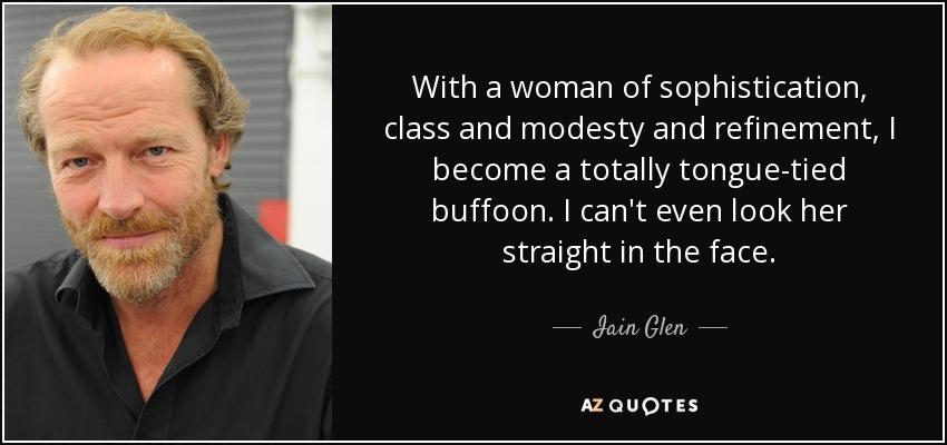 iain glen wife