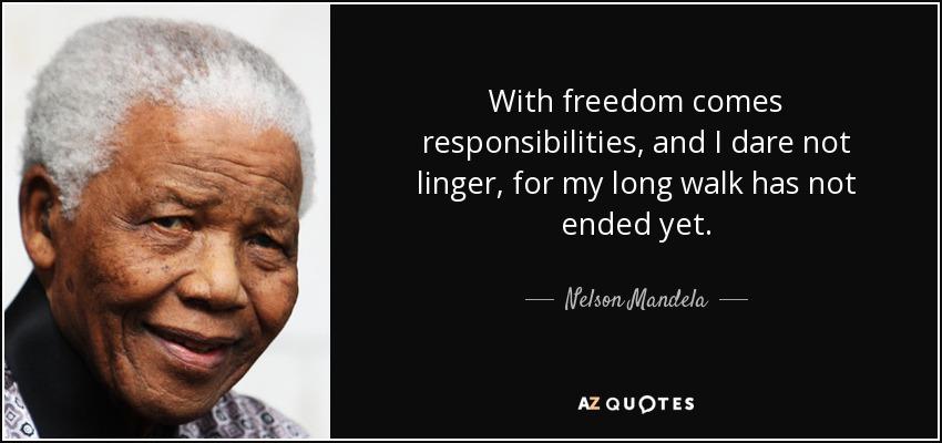 topic mandela long walk freedom