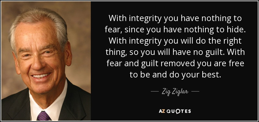 Top 25 Integrity And Character Quotes Of 81 A Z Quotes
