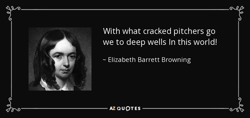 a biography on elizabeth barrett browning essay Elizabeth barrett brownings lifepoetry the main ideas of elizabeth barrett browning's poetic works changed constantly during her life, due to significant events occuring spirituality was the main focus of barrett's writing from 1838 until 1844.