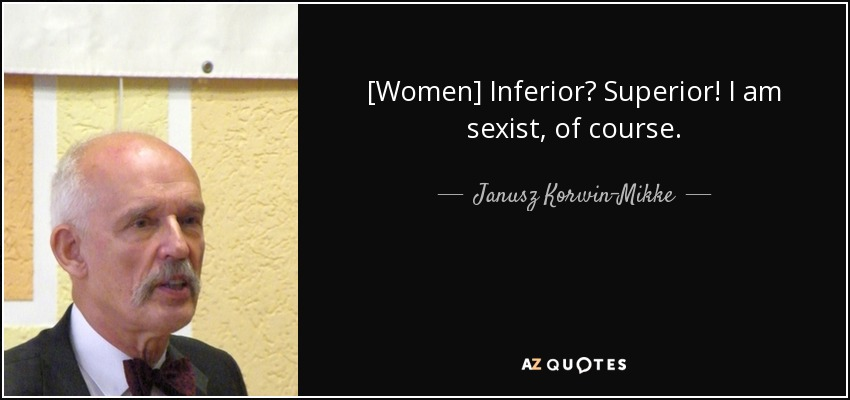 Sexist quotes about women