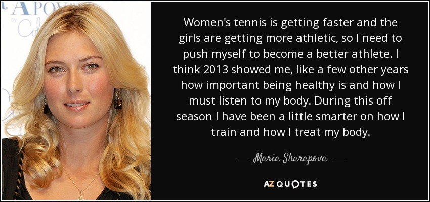 Maria Sharapova Quotes With Images: Maria Sharapova Best Of T