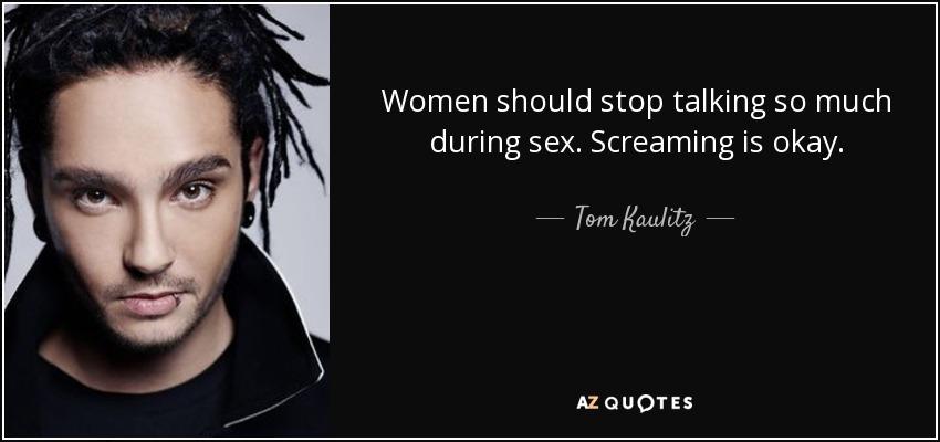 Why do women scream during intercourse
