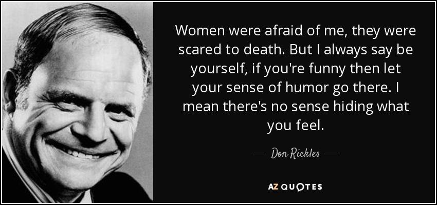 scared of women