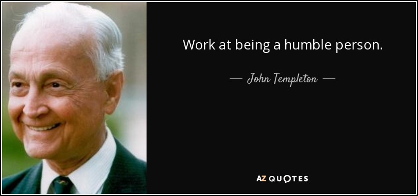 TOP 25 HUMBLE PERSON QUOTES | A-Z Quotes