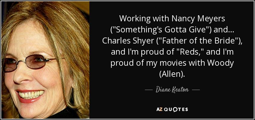 Working with Nancy Meyers (