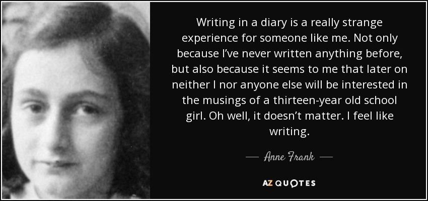 Writing from experience?