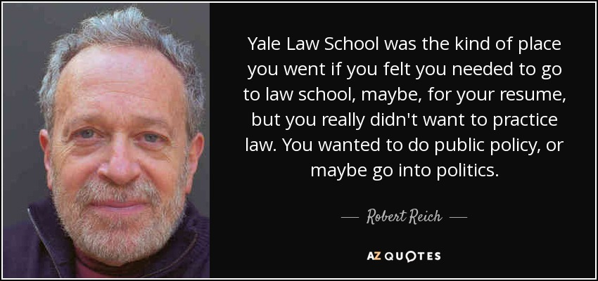 Yale Law School Was The Kind Of Place You Went If Felt Needed To