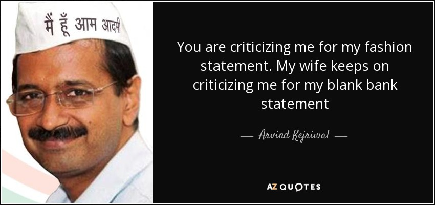 Top 11 Quotes By Arvind Kejriwal A Z Quotes