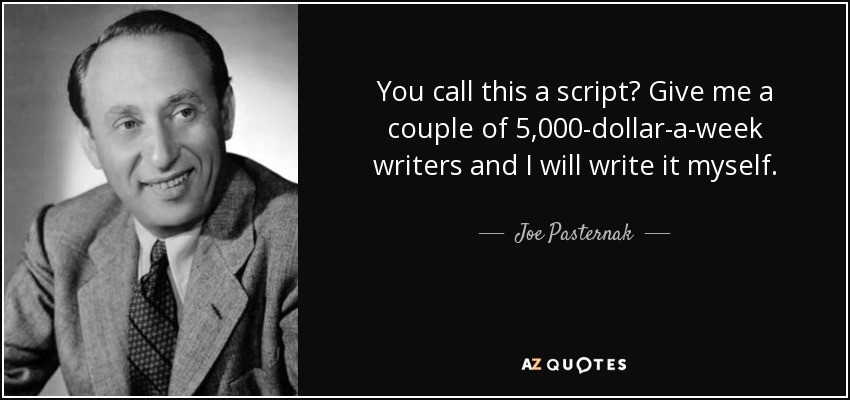 QUOTES BY JOE PASTERNAK | A-Z Quotes
