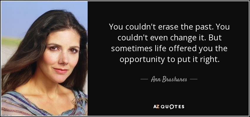 Top 25 Quotes By Ann Brashares Of 284 A Z Quotes