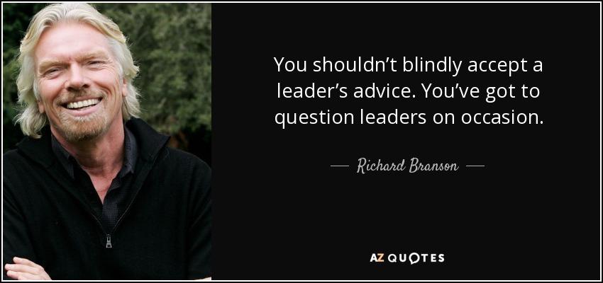 richard branson as a leader