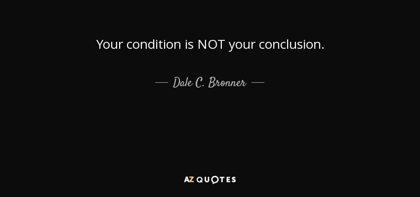 QUOTES BY DALE C  BRONNER | A-Z Quotes