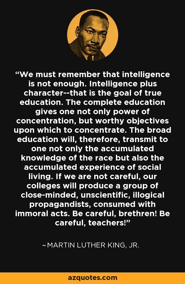 Martin Luther King Jr Quote We Must Remember That