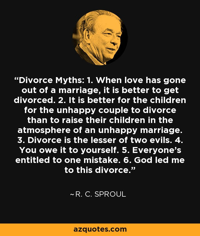 Divorce Is Better Than An Unhappy Marriage