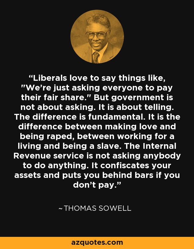 Liberals love to say things like,