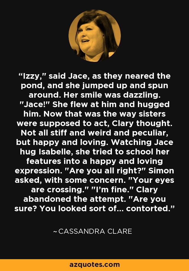Izzy,
