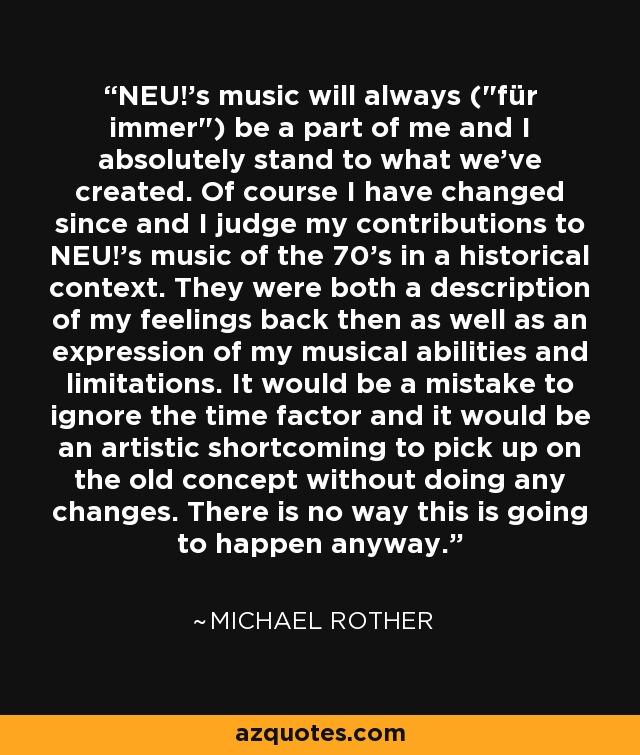 NEU!'s music will always (