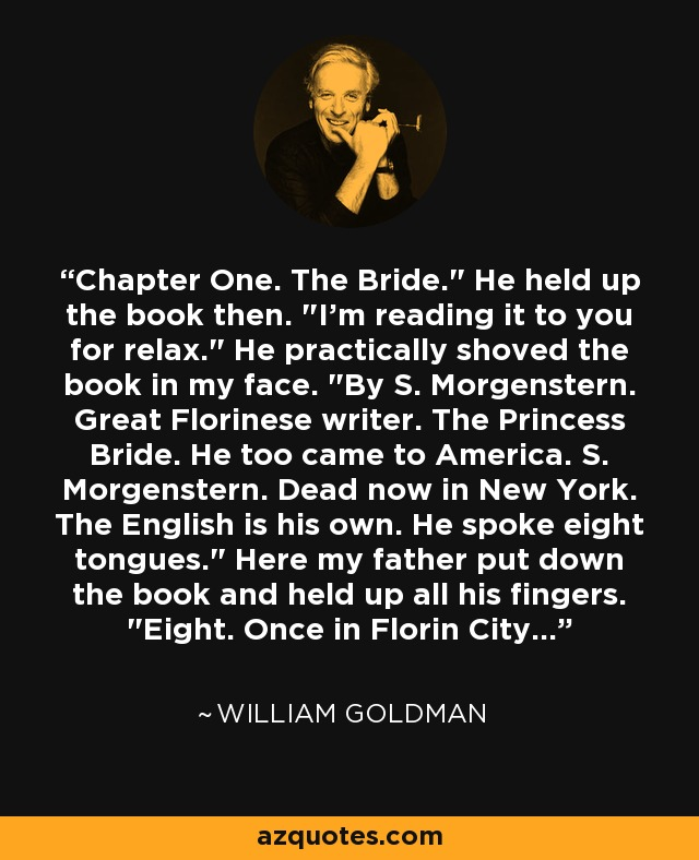 Chapter One. The Bride.