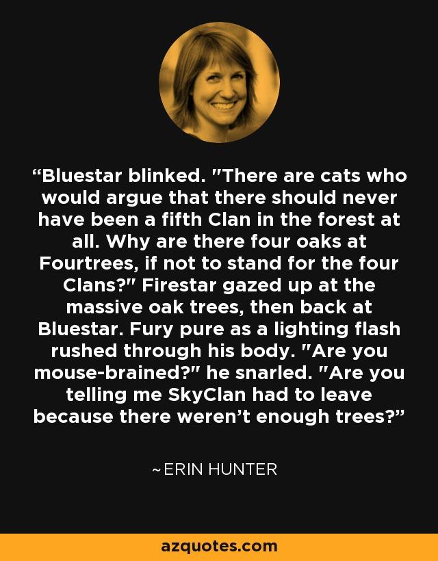 Bluestar blinked.