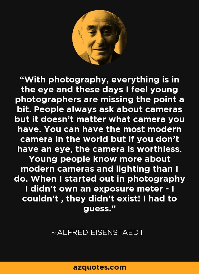 eye of eisenstaedt