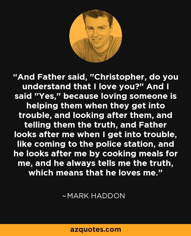 And Father said,