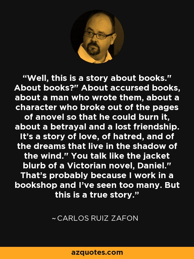 Well, this is a story about books.