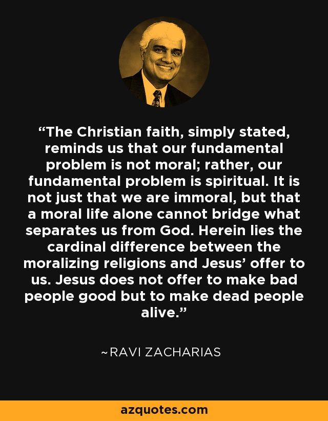 Zacharias quotes ravi The Ravi