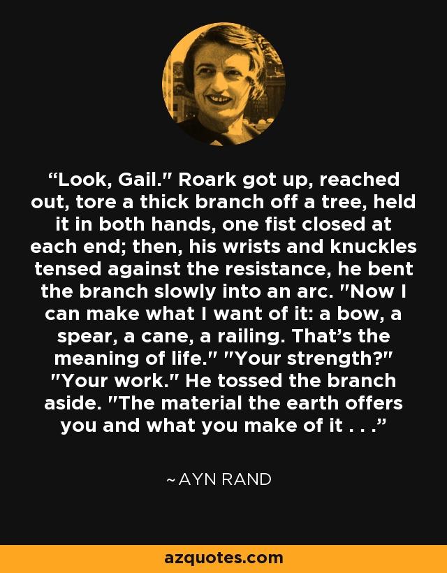 Look, Gail.