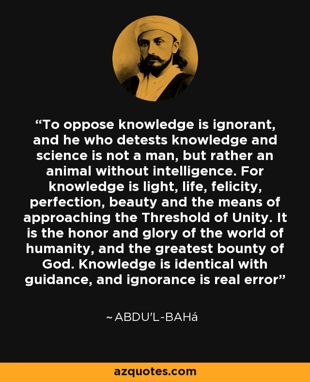 knowledge is light