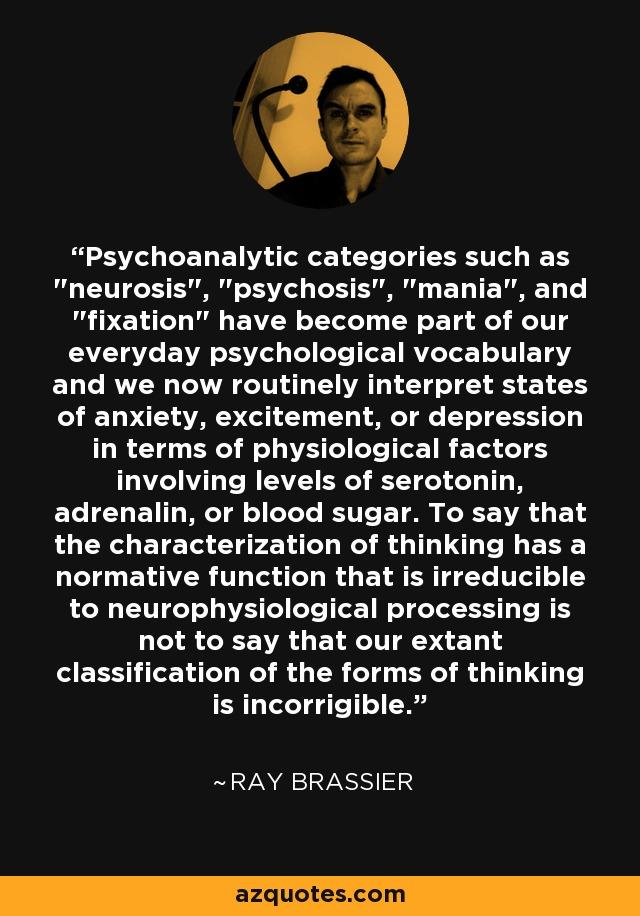 psychological characterization