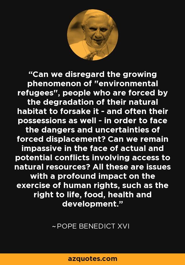 Can we disregard the growing phenomenon of