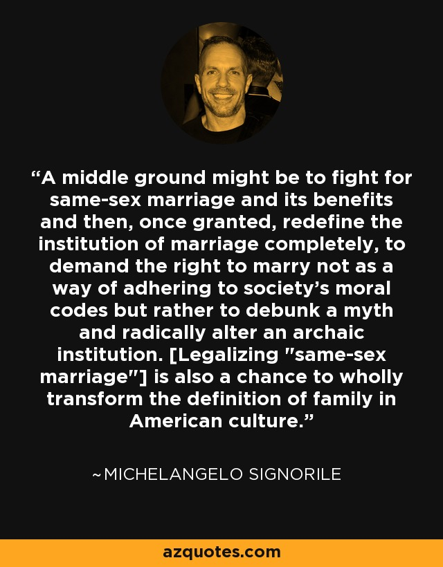 fight same sex marriage