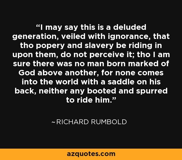 richard rumbold