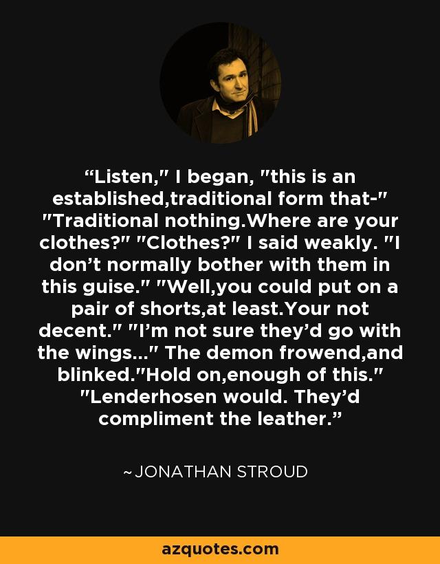 Listen,