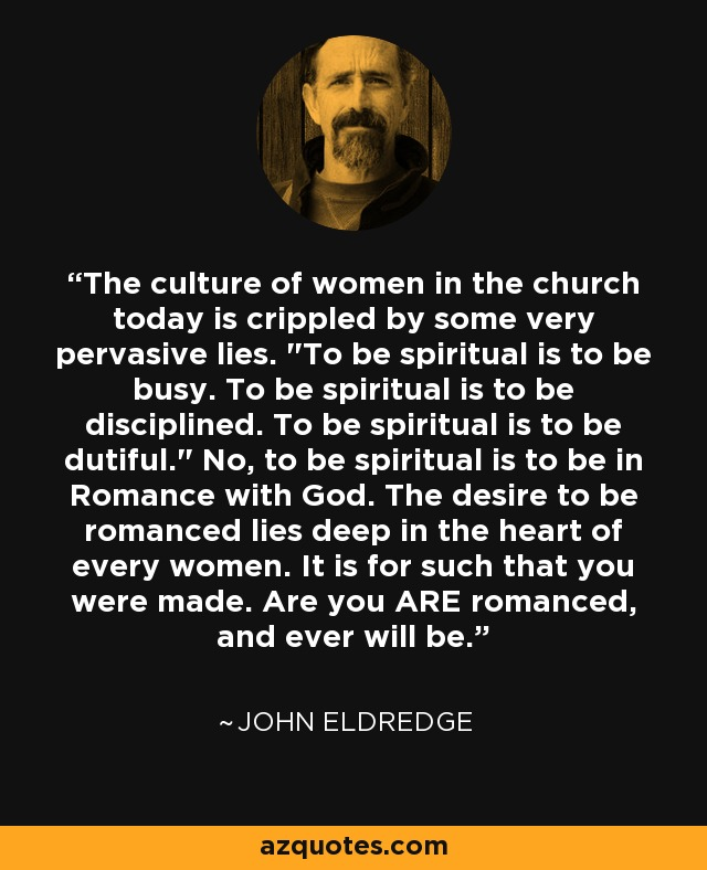 The culture of women in the church today is crippled by some very pervasive lies.