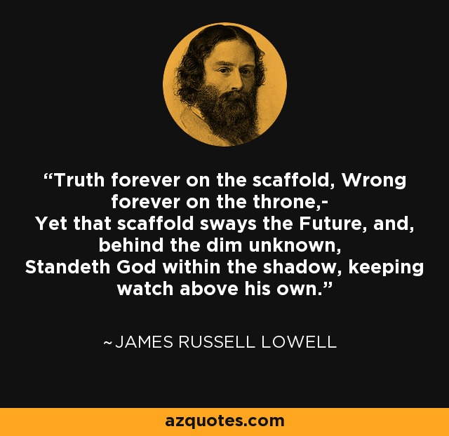 james russell lowell sitater