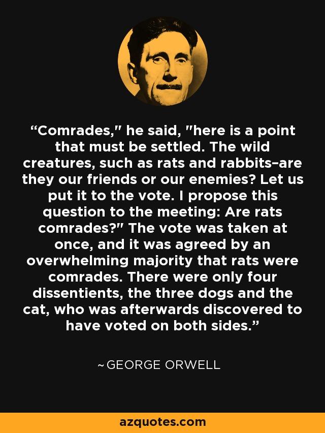 Comrades,