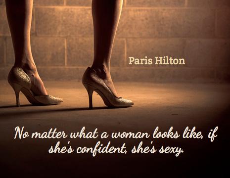 Confident Women Quotes Gorgeous Paris Hilton Picture Quote No Matter