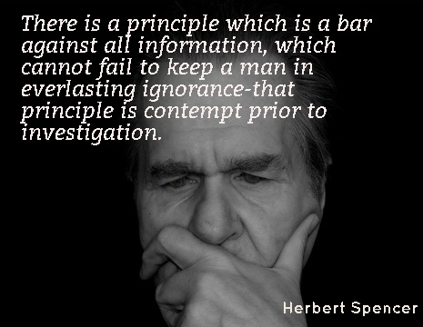 Herbert Spencer Picture Quote There Is A Principle Which