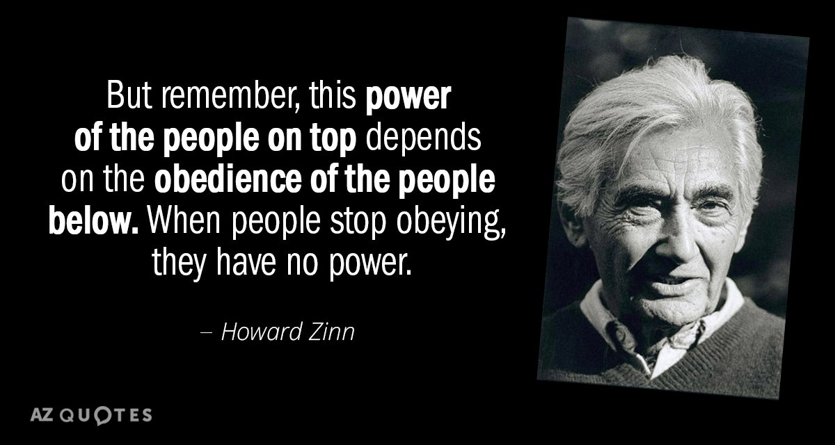3320 Best Images About Times Days To Remember On: Howard Zinn Quote: But Remember, This Power Of The People