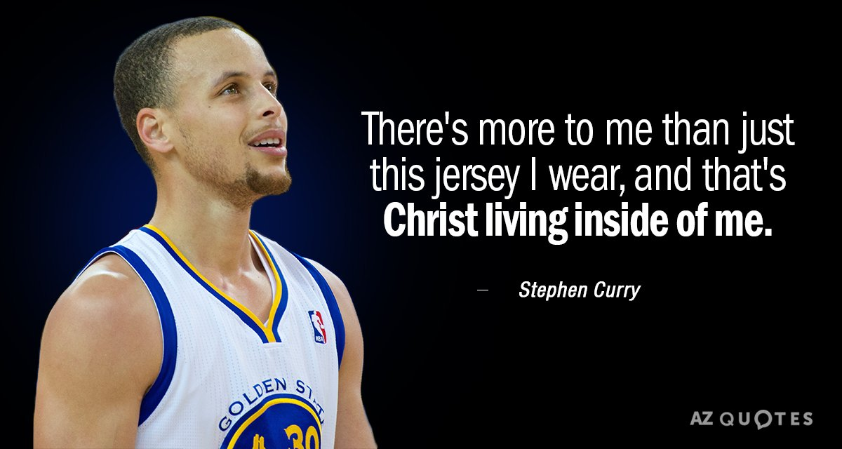 Stephen Curry Quotes Stephen Curry quote: There's more to me than just this jersey I  Stephen Curry Quotes