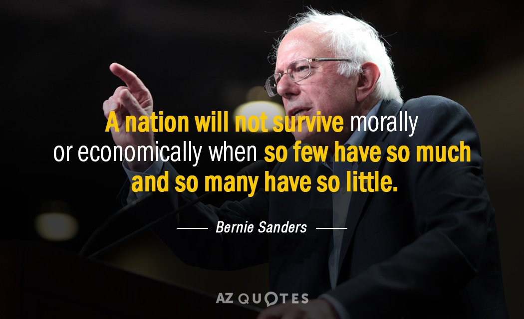 Bernie Sanders Quotes | Top 25 Quotes By Bernie Sanders Of 686 A Z Quotes