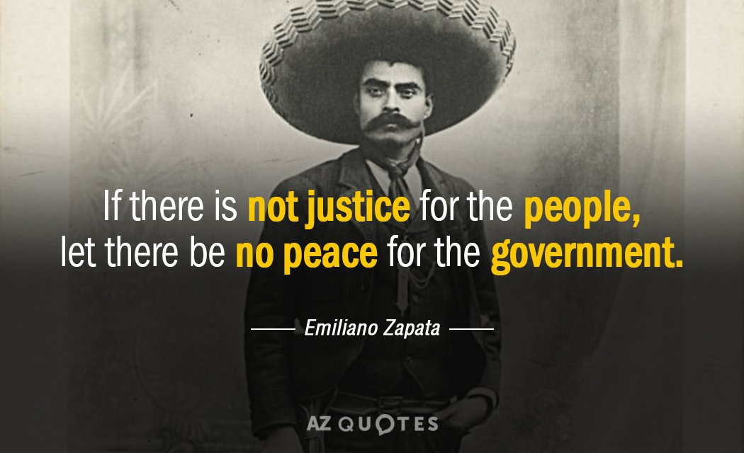 TOP 60 QUOTES BY EMILIANO ZAPATA AZ Quotes Amazing Emiliano Zapata Quotes
