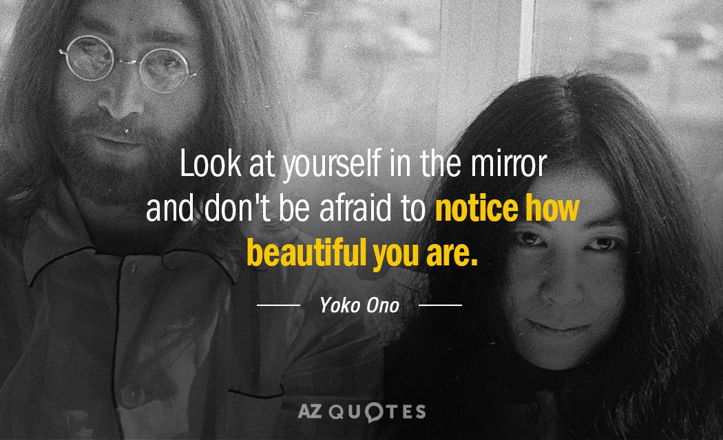 Top 25 Look At Yourself In The Mirror Quotes A Z Quotes
