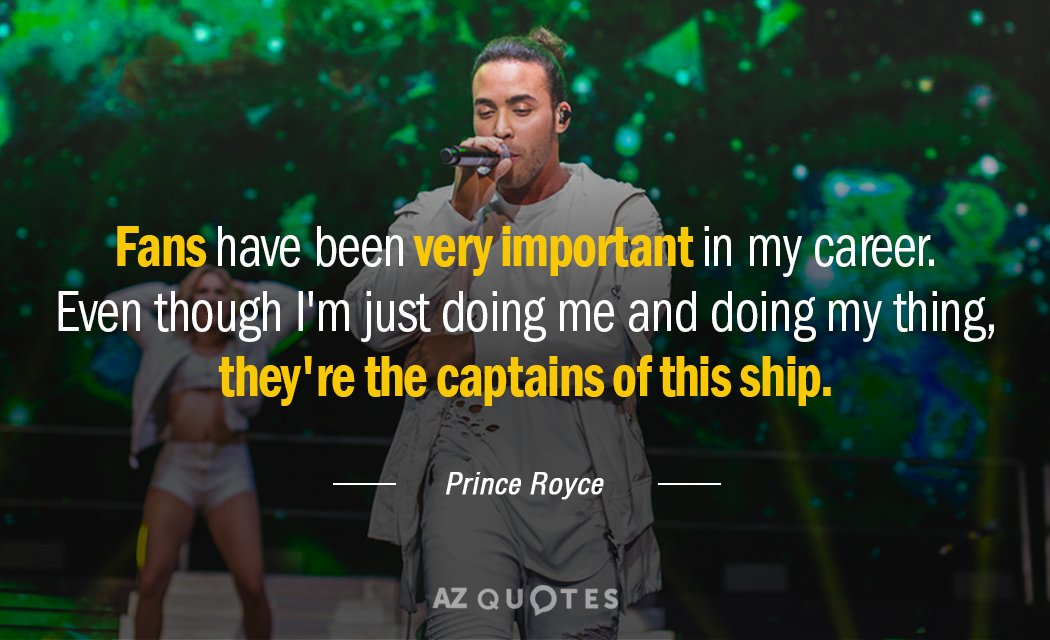 TOP 18 QUOTES BY PRINCE ROYCE